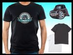 KOOLART BACK IN THE DAY Slogan Design for Classic Mini Clubman 1275GT mens or ladyfit t-shirt